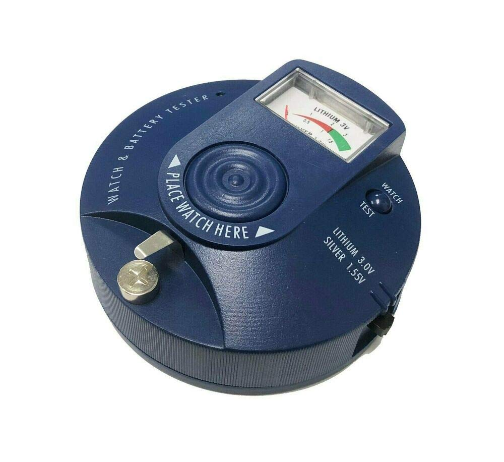 Watch'' Battery Tester Analyzer Silver Oxide 1.5v Lithium 3.0v BWT94 NEW Renata H12556