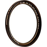 B+W UV-Haze- und Schutz-Filter (43mm, MRC Nano, XS-Pro, 16x vergütet, slim, Premium)