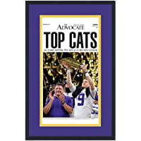 Framed New Orleans Advocate Top Cats LSU Tigers 2019 NCAA National Champions 17x27 Newspaper Cover Photo Professionally Matted