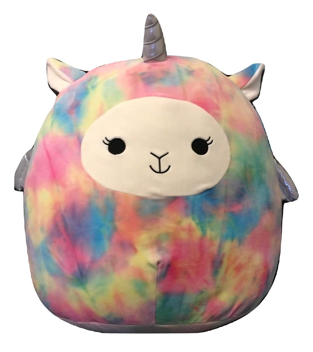 Squishmallow 12 Inch Tye Dye Unicorn Lola Stuffed Plush Toy