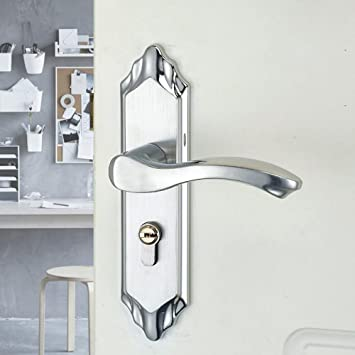 BiuTeFang cerradura de puerta de acero inoxidable cerradura ...