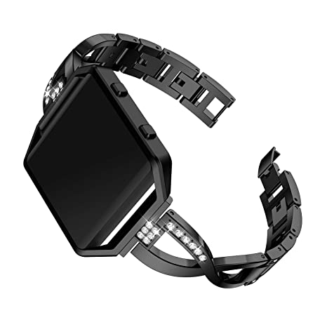 Amazon.com: KWLET Watch Bands Compatible with Fitbit Blaze ...