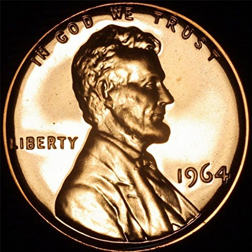 1964 Lincoln Memorial Penny Cent Gem Proof US Mint ()