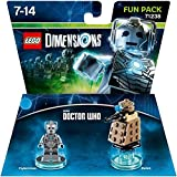 Warner Bros Lego Dimensions Dr Who Cyberman Fun Pack