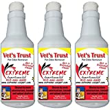 Extreme Carpet Cleaning Vets Trust - 16 oz. Bottle Pet Odor & Stain Remover for Dog and Cat Urine