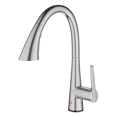 Buy Grohe 30205dc2 Ladylux L2 Touch Single Handle Pull Down Triple Spray Kitchen Faucet In Supersteel Online In Italy B07x2tvl7t
