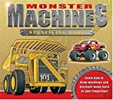 Monster Machines Stencil Book, Sarah Eason, 1591257921