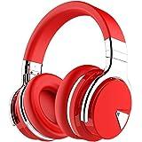 COWIN E7 Active Noise Cancelling Headphones Bluetooth Headphones with Microphone Deep Bass Wireless Headphones Over Ear, Comf