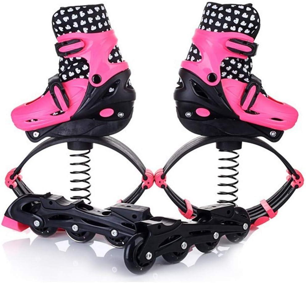 バウンスローラーシューズ、男の子女の子フィットネスジャンプシューズ重力ブーツ子供バウンスブーツ