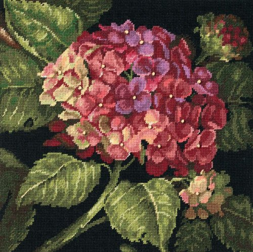 Dimensions Hydrangea Bloom Needlepoint Kit