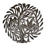 Cheap Garden Tree of Life,indoor and outdoor decor, artistic metal art from Haiti, 15″ x 15″
