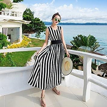 XIU*RONG Playa Mujer Falda Falda De Vacaciones Junto Al Mar En La ...