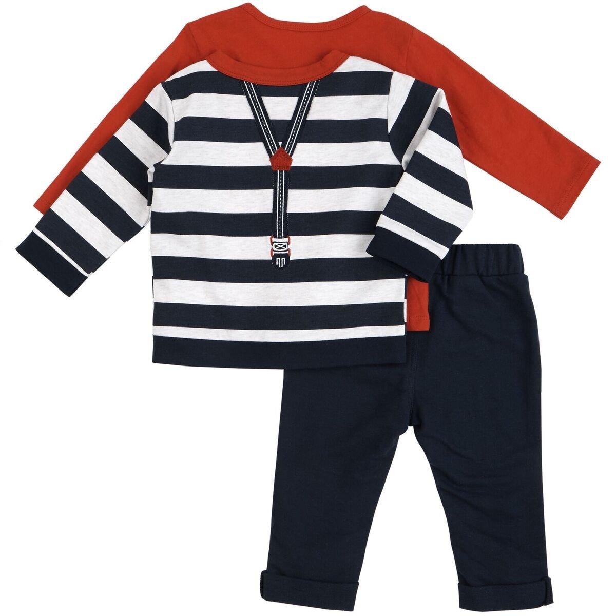 Petit Lem Baby Boys' 3pc Set, Holiday, 6 Months