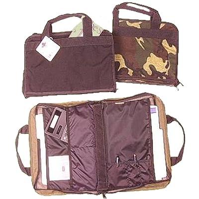 Briefcase Portfolio - Woodland Camo - Raine, Inc.