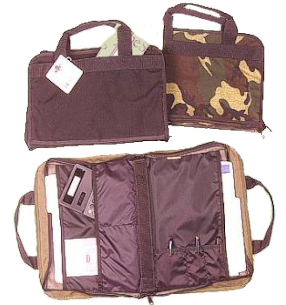 Briefcase Portfolio Raine Woodland Camo Inc.