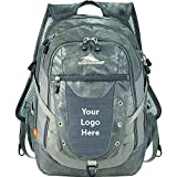 High Sierra Tactic 17'' Computer Backpack - 12 Quantity - $54.05 Each - PROMOTIONAL PRODUCT / BULK / BRANDED with YOUR LOGO / CUSTOMIZED
