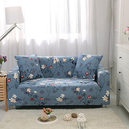 dw hx landliche elastische sofabezug 1 2 3 4 5 sitze perfekt fur kinder und haustiere anti rutsch gesteppter stilvoll sofa protector m 2 sitzer amazon de