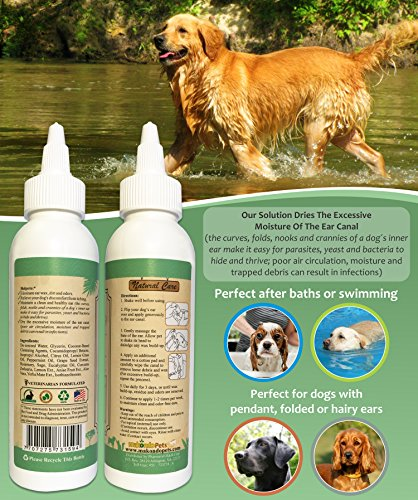 Dog Ear Cleaner Advanced Dog Ear Wax Remover All Natural