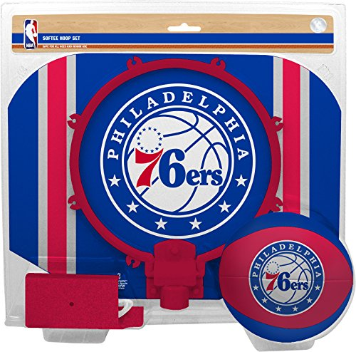 fan products of NBA Philadelphia 76ers Slam Dunk Softee Hoop Set
