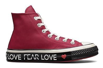 a41544aad5c5 Converse Chuck 70 HI Mens Fashion-Sneakers 563472C 10 - Rhubarb EGRET Black