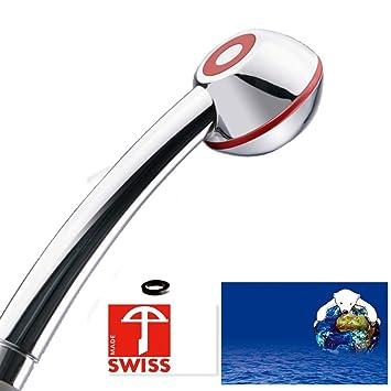 Fabulous Handbrause SwissClima VITALITÉ WOW! geeignet für Durchlauferhitzer QD76