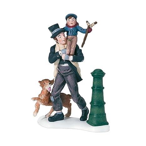 Tiny Tim Christmas Carol.Department 56 Dickens A Christmas Carol Bob Cratchit And Tiny Tim