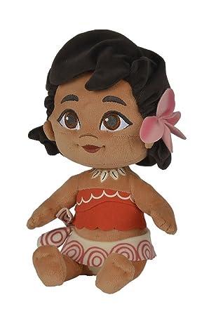 BABY VAIANA Bebe Peluche 25cm Felpa de la película Disney MOANA Oceania