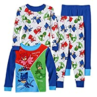 Boys Toddler PJ Masks Pajama Set featuring Catboy, Owlette, and Gekko