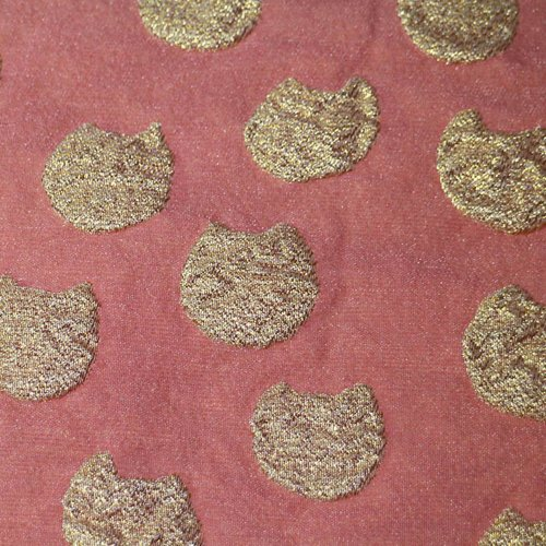 ツモリチサト浴衣帯兵児帯(ピンクベージュ4th-3)tsumorichisatokidsobiブランドかわり織