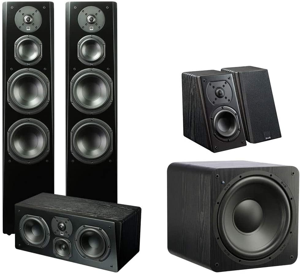 SVS Prime 5.1 Home Theater System (Premium Black Ash)