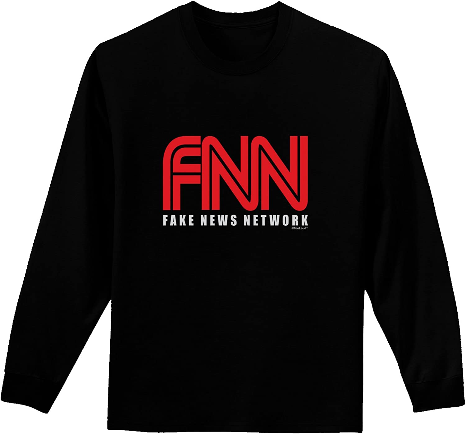 TooLoud Fake News Network Funny Infant T-Shirt