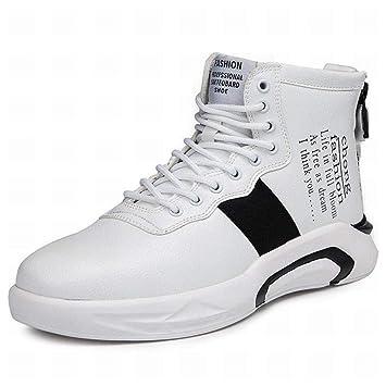 zj Calzado de Hombre, Otoño Invierno, Zapatillas Altas, Zapatillas Cómodas, Zapatos para