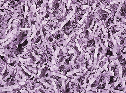 Pack of 1, Orchid Crinkle Cut 10 Lb Spring-Fill Paper Shred Great for Baskets, Basket Boxes, Bags, Containers & Nested Boxes by Generic