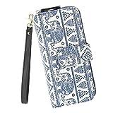Best Pattern Wallets - Women Snap Wallet Bohemian Elephant Wallet Zipper Clutch Review