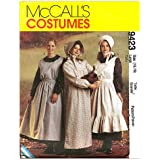 McCall's Patterns M9423 Misses' Pioneer Costumes, Size MED