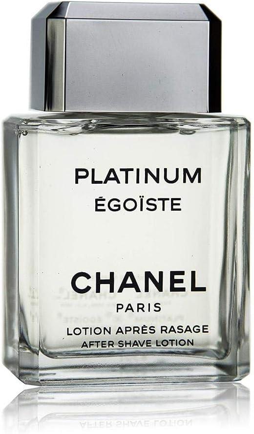 CHANEL Platinum Egoiste after shave 100 ml - After shave (Lavanda, Romero, Geranio, Petitgrain, Botella, 100 ml)