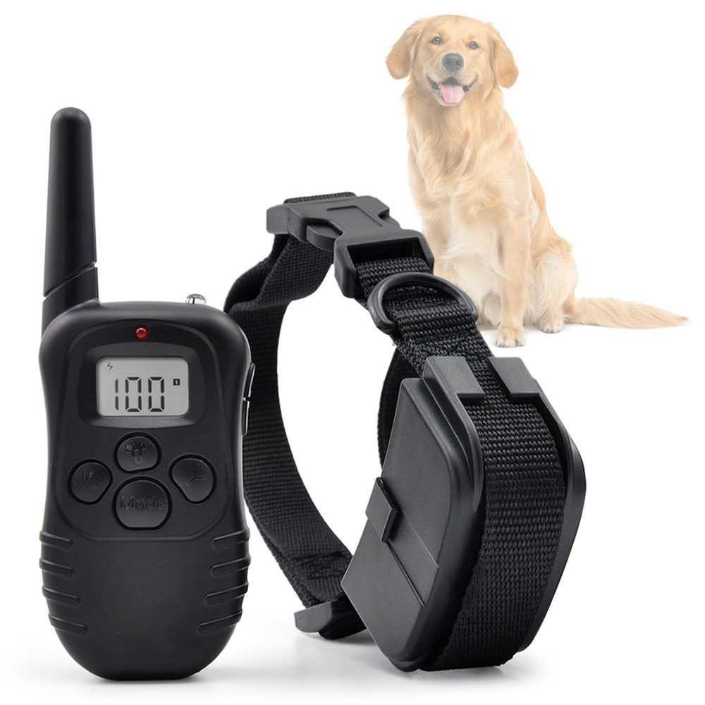 Collier Anti-Aboiment Electrique dressage chien reglab, Pet Training, Dog, 300m Gamefox 80484