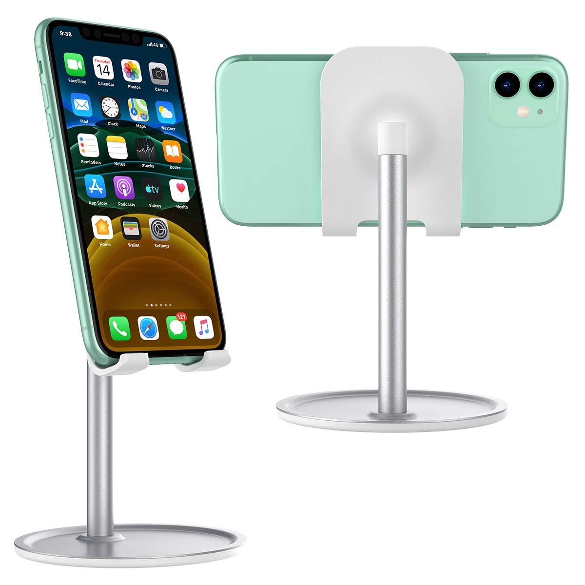 Huawei P30 P20 2019 iPad Pro,iPad Air,iPad Mini Supgear Handy St/änder Samsung S10 S9 Universal Verstellbarem Betrachtungswinkel Handy Halterung f/ür iPhone 11 pro XS XR X