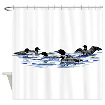 Amazon CafePress Lots Of Loons Decorative Fabric Shower