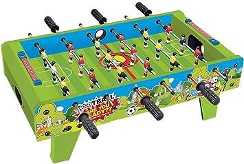 YUHT Futbolín Infantil,Juguete de Madera del fútbol de la Tabla, Mini portátil de la Tabla