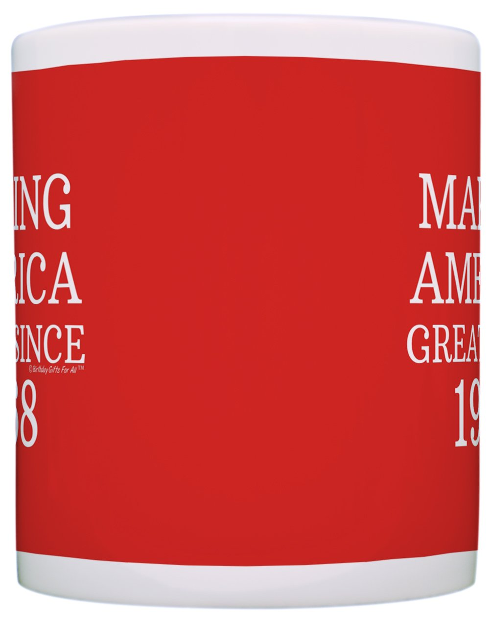 50th Birthday Gifts For All Making America Great Since 1968 Republican Mug Republican Gifts Coffee Mug Tea Cup Red by ThisWear (Image #3)