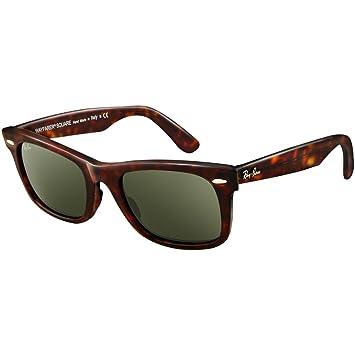 4d87bb6601 ... netherlands ray ban sunglasses wayfarer square rb2151 902 tortoise  crystal green 52mm dee08 8c052