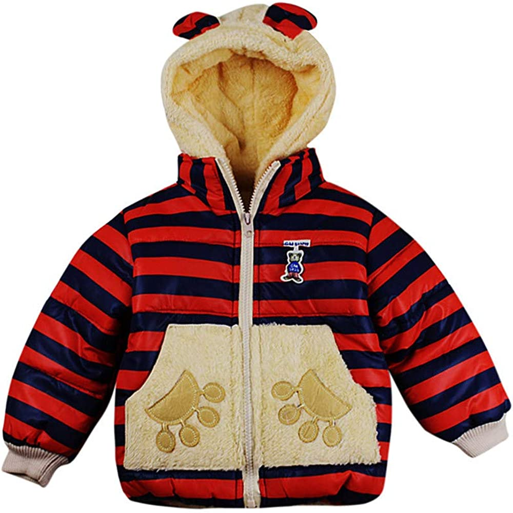 callm Child Baby Girl Boy Clothes Autumn Winter Outerwear Kids Jacket Coat Snowsuit