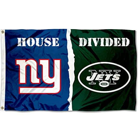 b6c77ad2e8eb9 Image Unavailable. Image not available for. Color  WinCraft NY Giants and New  York Jets House Divided Flag