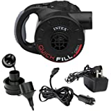 Intex Quick-Fill Rechargeable Air Pump, 110-120 Volt, Max. Air Flow 21.2CFM