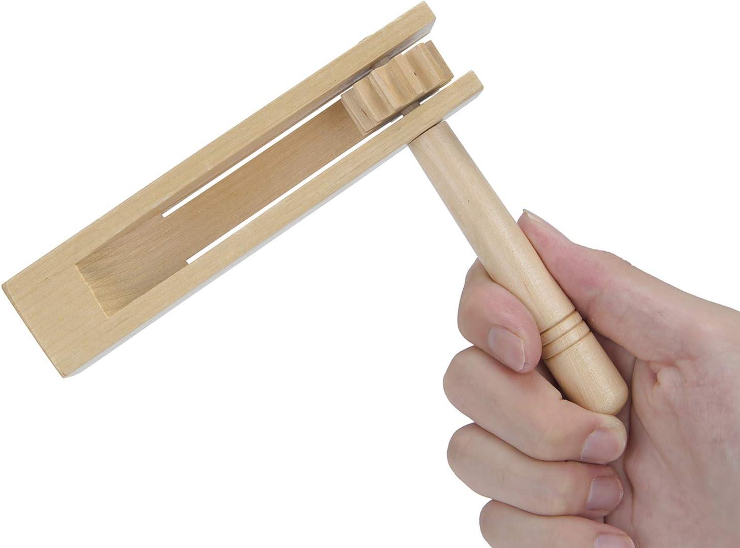Madera Spinning Rattle Ratchet Ruido Maker Tradicional Matraca ...