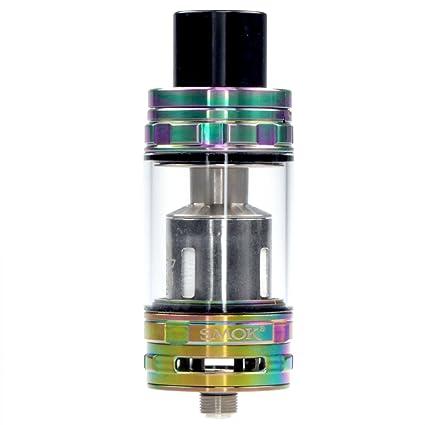 Riccardo SMOK Cloud Beast TFV8 Clearomizer, bis 6 ml, Durchmesser 24,5 mm, Verdampfer für e-Zigarette, 7-color (rainbow), 1 S