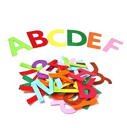Amazon.com: Letras del alfabeto de fieltro RERIVER de 3.5 in ...