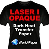 Laser 1 Opaque Dark Shirt Heat Transfer Paper 8.5x11 10