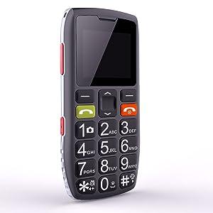 Teléfonos Móviles para Mayores con Teclas Grandes, Artfone C1 Senior,...